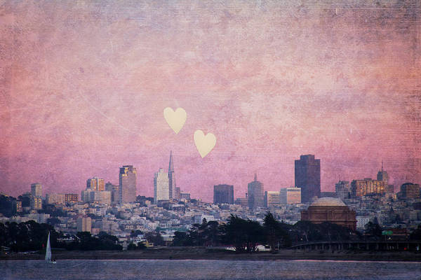 Wall Art - Photograph - Where We Left Our Hearts - Sf Photography by Melanie Alexandra Price