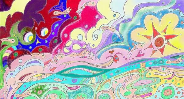 Drawing - Wherever Shall I Wander by Julia Woodman