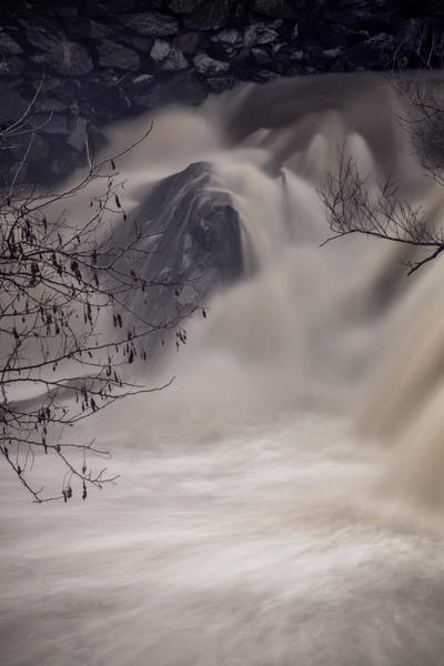 Photograph - Whetstone Brook Angry IIi by Tom Singleton