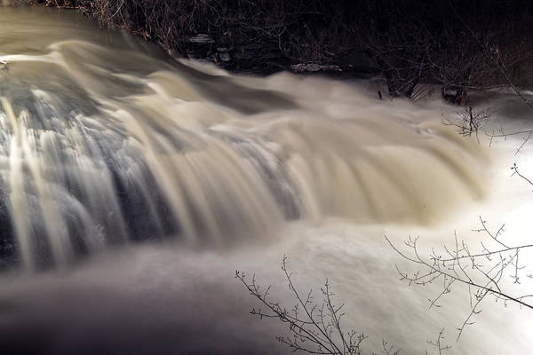 Photograph - Whetstone Brook Angry by Tom Singleton