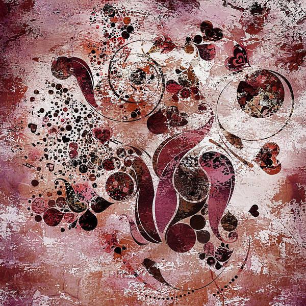 Mixed Media - Whimsical Heartfelt Flourish by Isabella Howard
