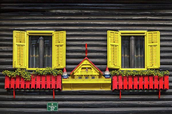 Photograph - Whimsical Windows - Slovenia by Stuart Litoff
