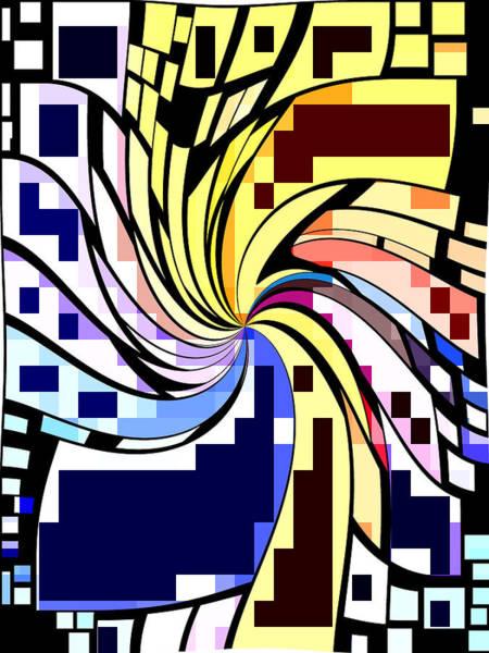 Whirl Digital Art - Whirl 1 by Chris Butler