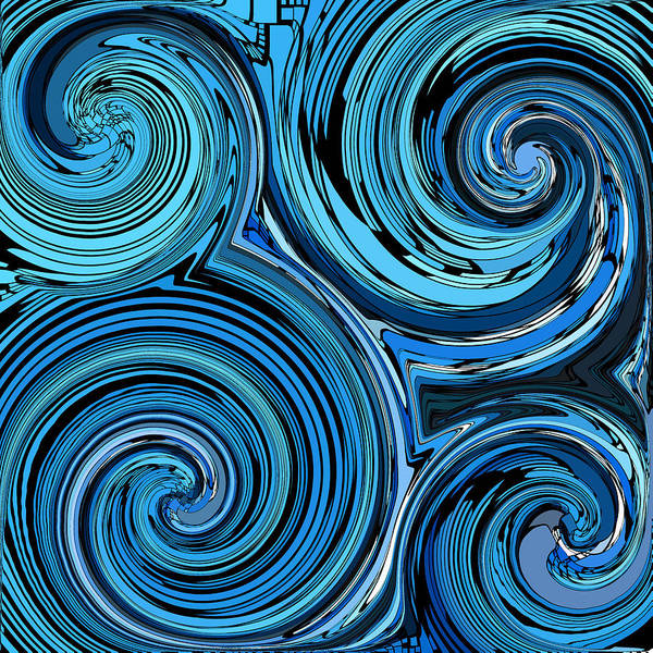 Whirl Digital Art - Whirl 3 by Chris Butler