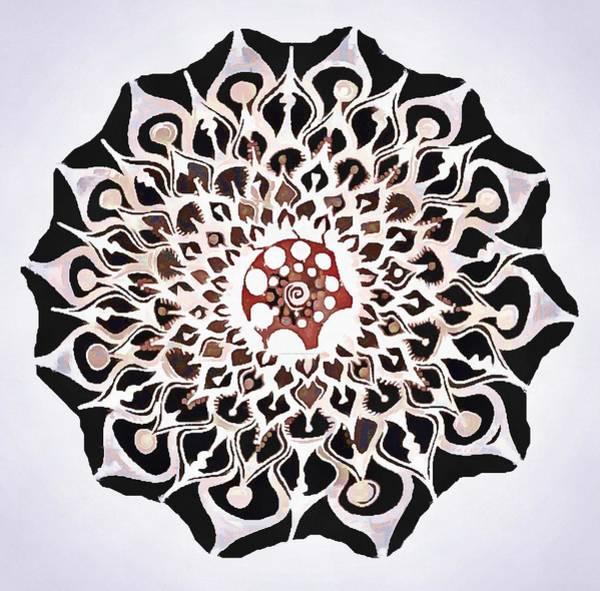 Digital Art - Whirl Pop Art by Catherine Lott