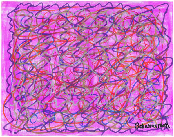 Painting - Whirly - Twirly by Susan Schanerman