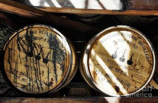 Photograph - Whiskey Barrels by Mel Steinhauer