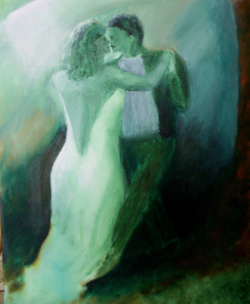 Painting - Whispered Passion by Keith Thue