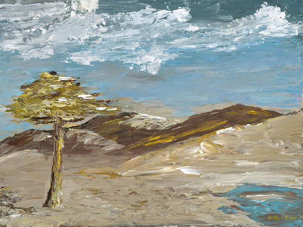 Painting - Whispering Dunes by Ovidiu Ervin Gruia