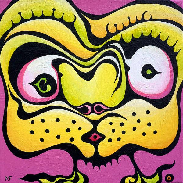 Whispering Wanda Art Print