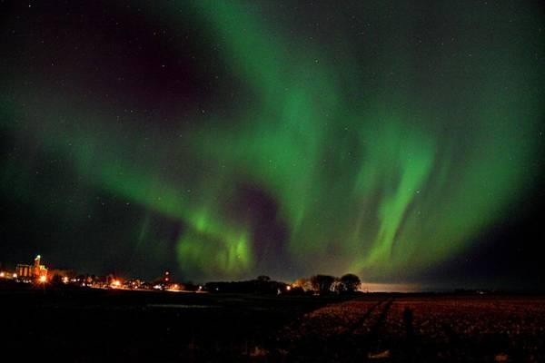 Photograph - Whisps Of Aurora by David Matthews