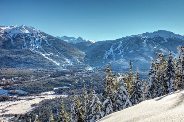 Photograph - Whistler Blackcomb Mountains In Winter by Pierre Leclerc Photography