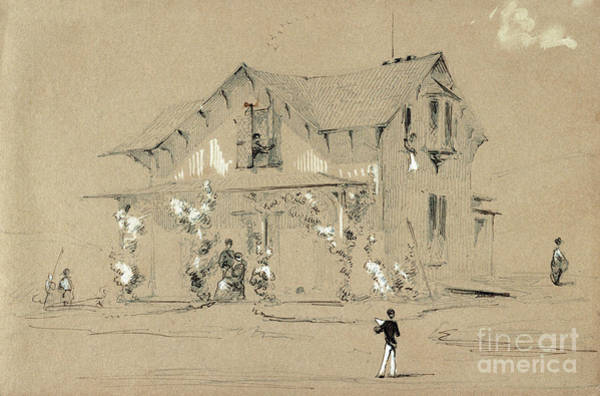 Photograph - Whistler, Country House.  by Granger