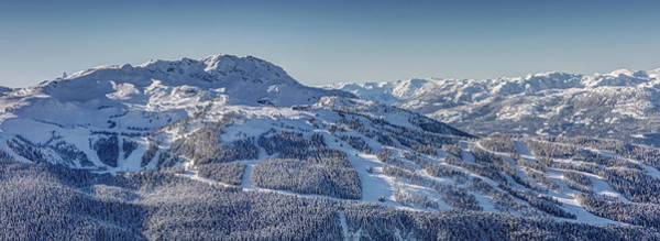 Photograph - Whistler Mountain Snowy Panorama by Pierre Leclerc Photography