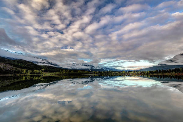Photograph - Whistler Sunrise Reflection by Pierre Leclerc Photography
