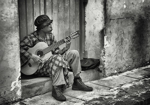 Photograph - Whistling Guitar Player by Jessica Levant