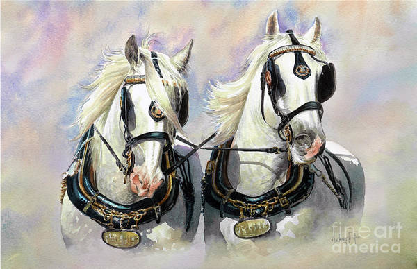 Wall Art - Painting - Whitbread Shires by Anthony Forster