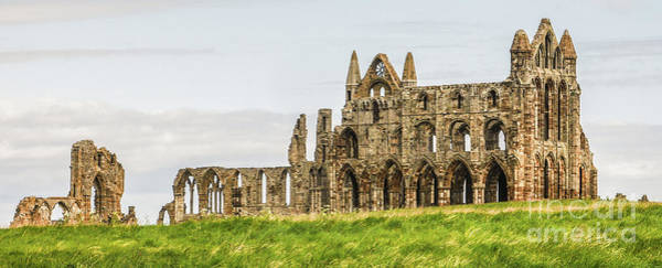 Photograph - Whitby Abbey England by Lexa Harpell