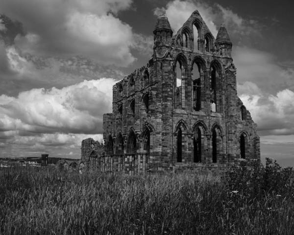 Photograph - Whitby Abbey, North York Moors by Chris Coffee