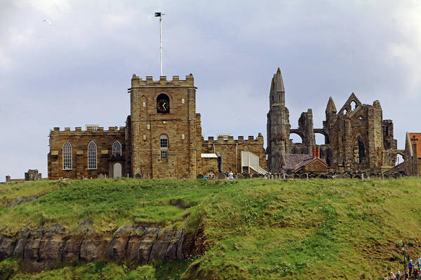 Photograph - Whitby Abbey by Tony Murtagh