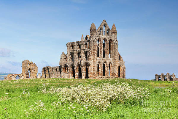 Wall Art - Photograph - Whitby Abbey, Yorkshire Heritage by Colin and Linda McKie