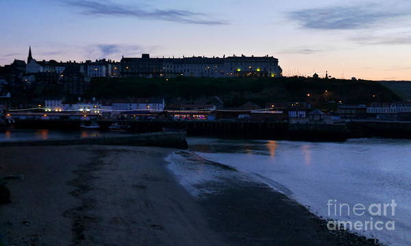 Photograph - Whitby By Twilight by Lexa Harpell