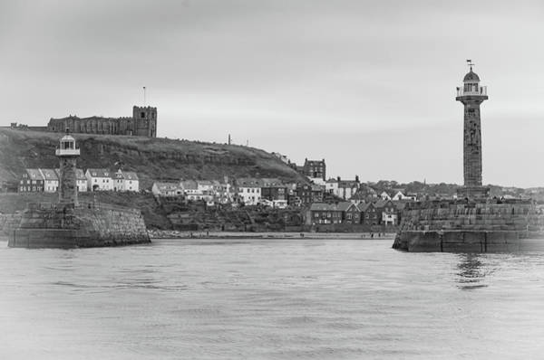 Photograph - Whitby Harbour, Safe Haven by Robert Sidebottom