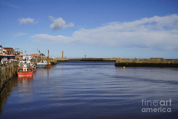 Yorkshire Wall Art - Photograph - Whitby by Smart Aviation