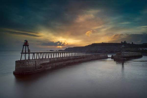 Wall Art - Photograph - Whitby Sunrise by Ian Barber