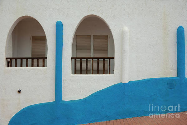 Photograph - White-blue Andalusian Style by Heiko Koehrer-Wagner
