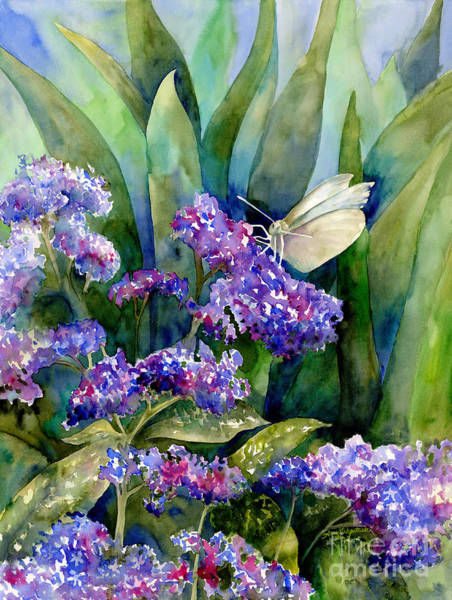 Painting - White Butterfly by Amy Kirkpatrick