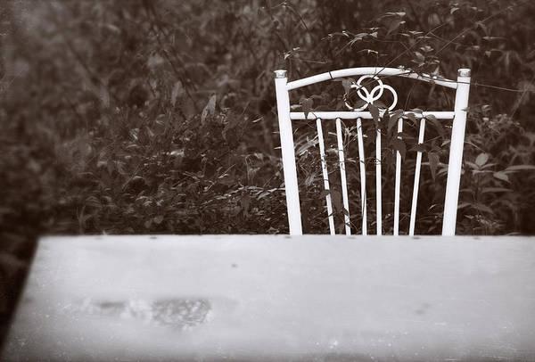 Photograph - White Chair #0626 by Andrey Godyaykin