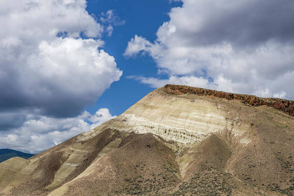 Wall Art - Photograph - White Clay Cliff In The Oregon Painted Hills by John Trax