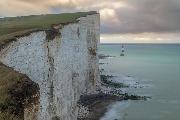 Wall Art - Photograph - White Cliffs And Beachy Head - England by Joana Kruse