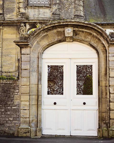 Patina Digital Art - White Door by Melanie Alexandra Price