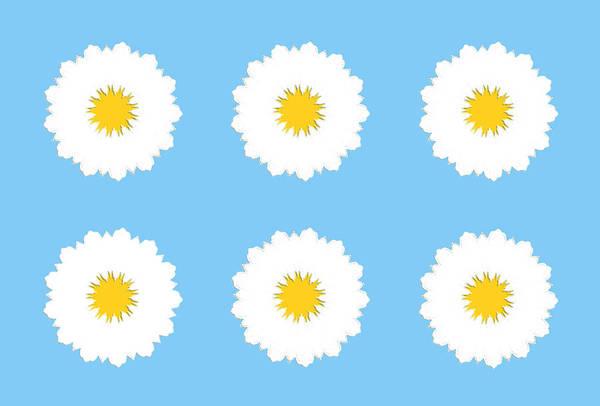 Digital Art - White Flower by Elizabeth Lock