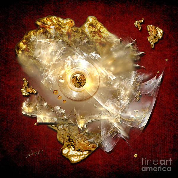 Painting - White Gold by Alexa Szlavics