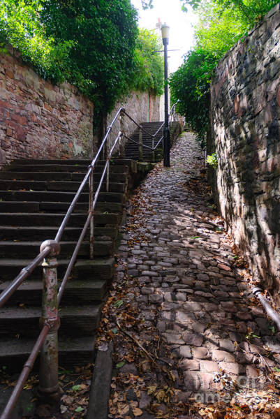 Photograph - White Hart Steps, Bristol by Colin Rayner