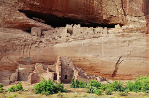Photograph - White House Ruin Cliff Dwellings Canyon De Chelly by Kyle Hanson