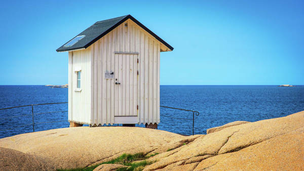 Photograph - White Hut by James Billings