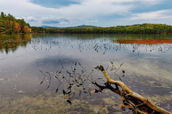 Photograph - White Lake Autumn View Nh by Michael Hubley