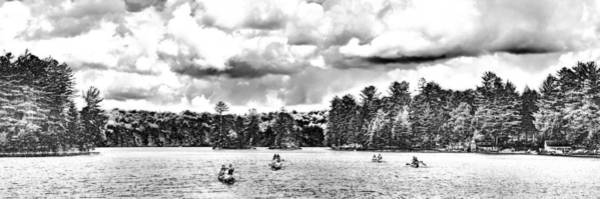Photograph - White Lake Panorama 2 by David Patterson