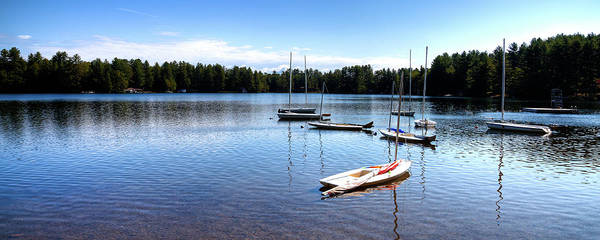 Photograph - White Lake Sailboats by David Patterson