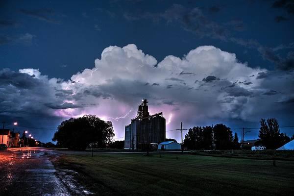 Photograph - White Lightning by David Matthews