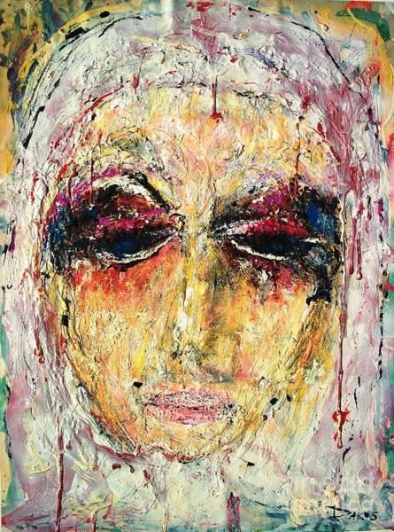 Sax Painting - White Madonna      by Darlyne Sax