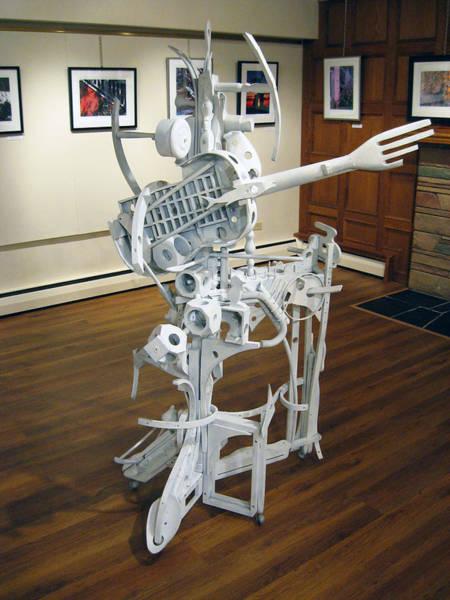 Sculpture - White Man by Bill Thomson