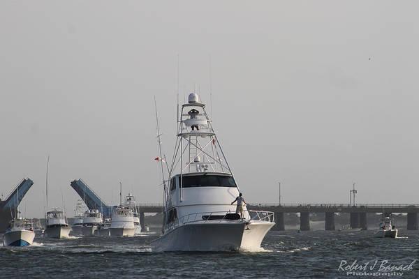 Photograph - White Marlin Open Boats by Robert Banach