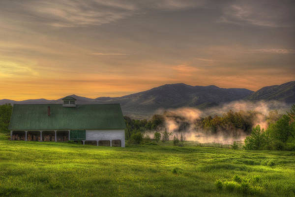 Photograph - White Mountain Sunrise - New Hampshire by Joann Vitali