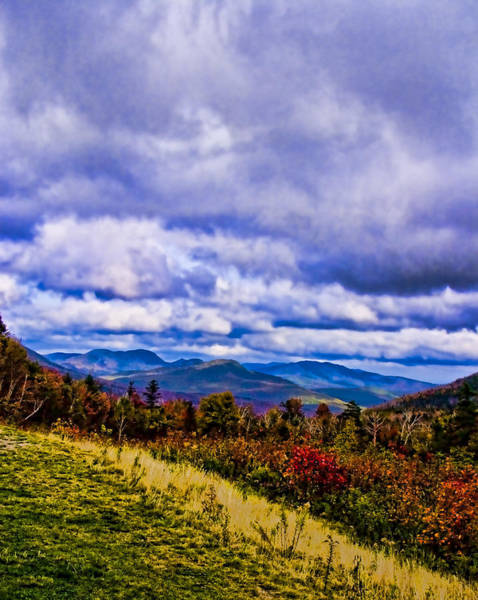 Chs Digital Art - White Mountains by Ches Black