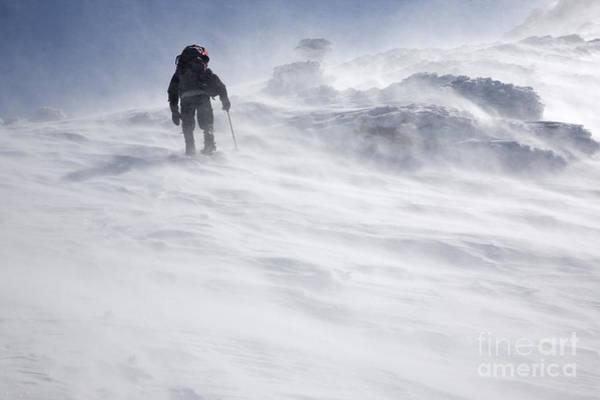White Mountains New Hampshire - Extreme Weather Art Print